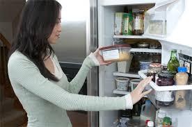 đặt để thức ăn không hợp lý làm ảnh hưởng mức độ làm lạnh ở tủ