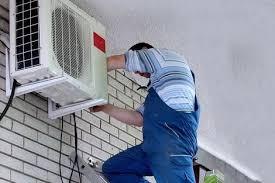 lắp đặt cục nóng máy lạnh