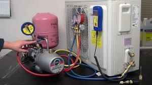 quy trình bơm gas máy lạnh chuyên nghiệp